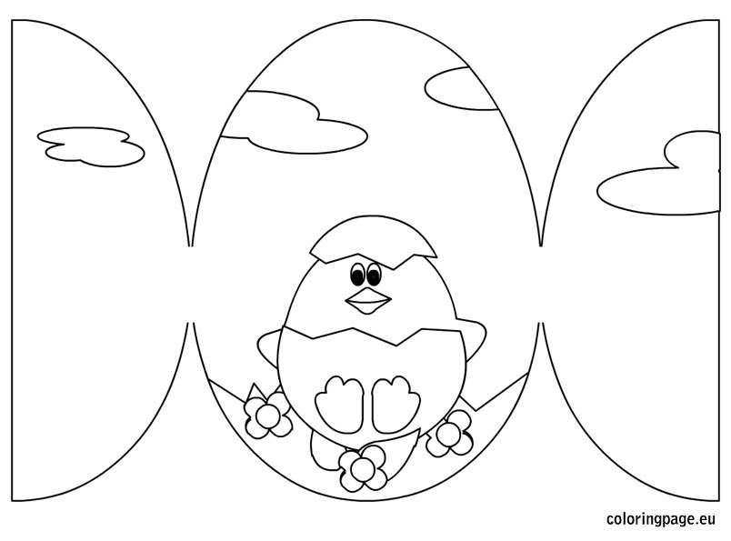 easter card templates print free printable black and white easter