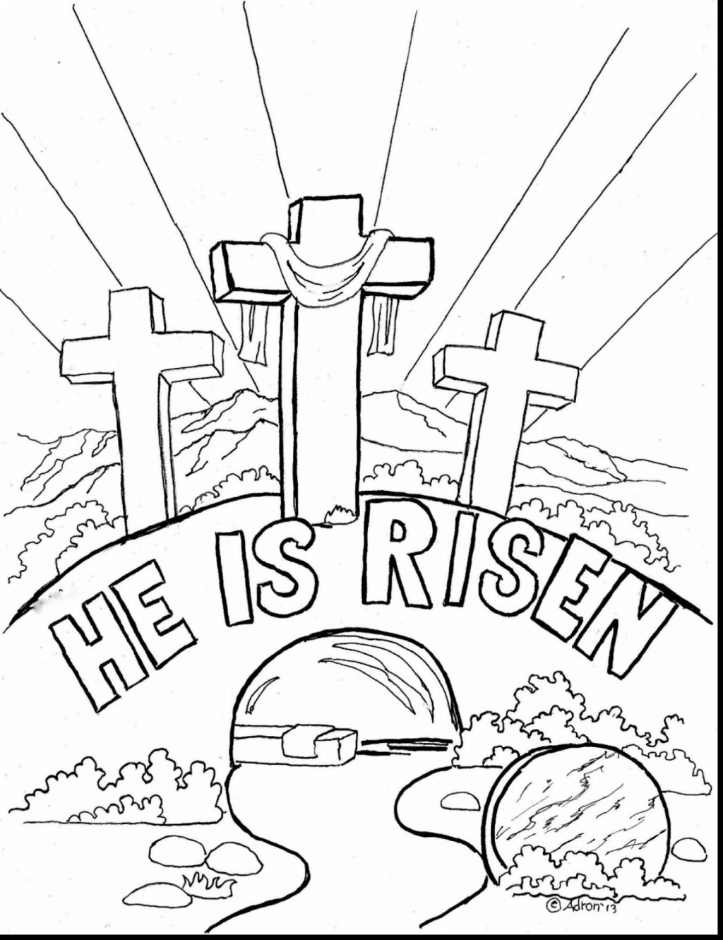Religious Coloring Pages For Toddlers Fantastic Photo Ideas Free ... | 1331x1024