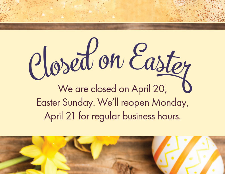 Closed For Easter Template from easter-bunny-rabbit.com