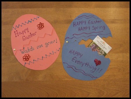 Easter Activities For Preschool Children Easter Card Ideas For Toddlers The Easter Bunny Org