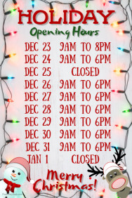 Closed For The Holiday Sign Template from easter-bunny-rabbit.com