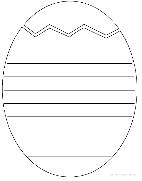 easter writing template easter paper the easter bunny org