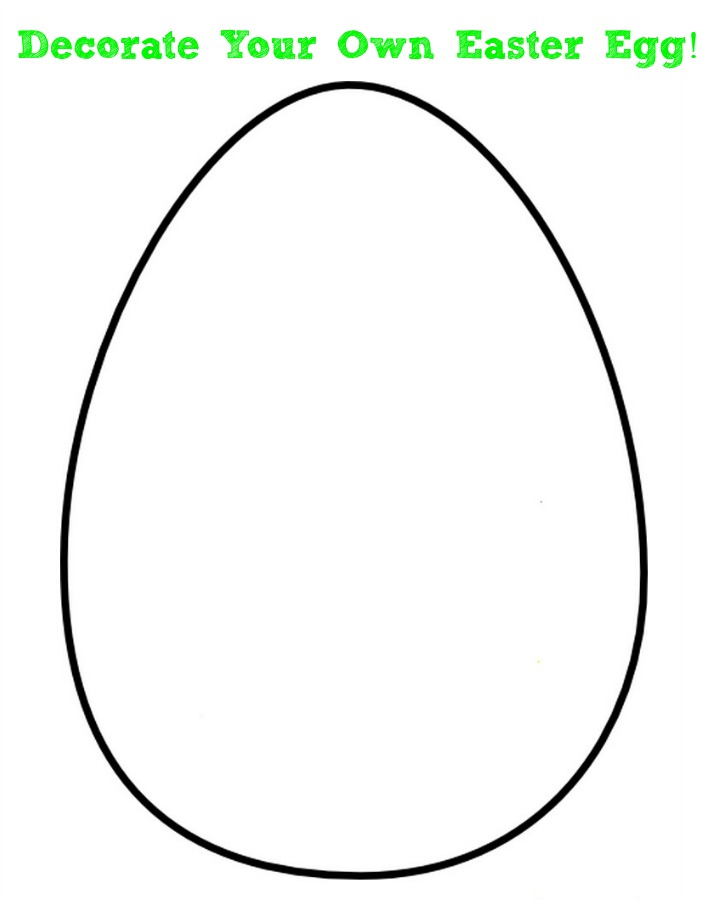 free printable easter egg template super ideas blank easter egg