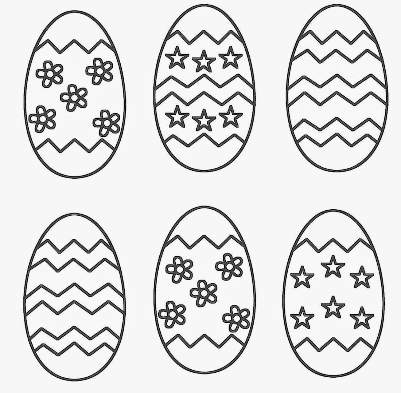 Easter Eggs Surprise Coloring Page | crayola.com | 1278x1306
