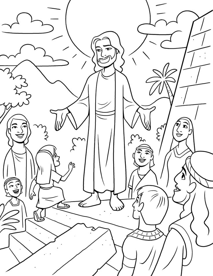 Pioneer Day Coloring Pages - Religious Doodles   952x736